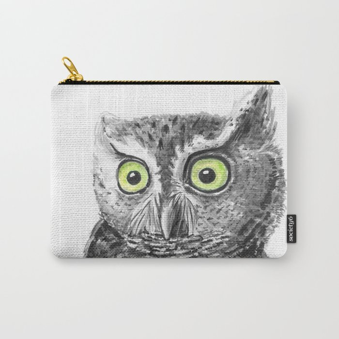 Owl portrait Carry-All Pouch
