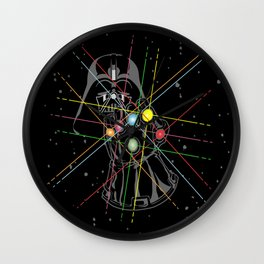 Infinity Galaxy Wall Clock
