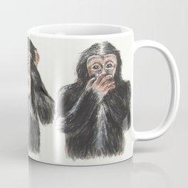 Hear No Evil, See No Evil, Speak No Evil Coffee Mug