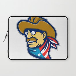Theodore Roosevelt Jr Mascot Laptop Sleeve