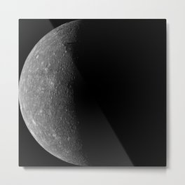 Planet Mercury Metal Print