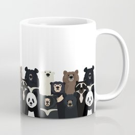 Bear family portrait Coffee Mug