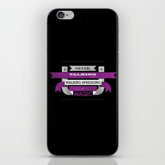 "Lyric Love - ""SABBATH"" iPhone & iPod Skin"
