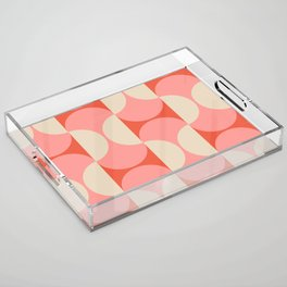 Capsule Modern Acrylic Tray