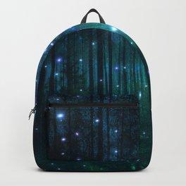 Glowing Space Woods Backpack