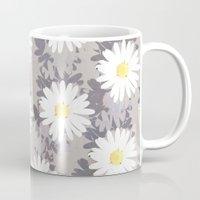 daisies Mugs featuring Daisies by Georgiana Paraschiv
