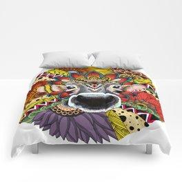 TRIBAL COW Comforters
