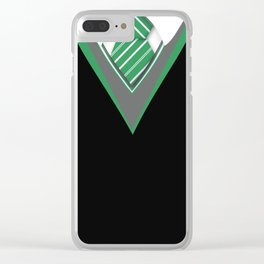 green Clear iPhone Case