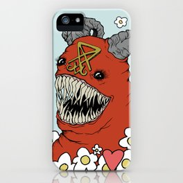 Lovey Devil iPhone Case
