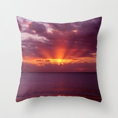Let the new day lift your spirits to the sky Throw Pillow