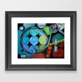 House Music  Framed Art Print