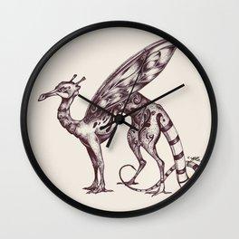 Glasswing Dragon Wall Clock