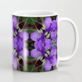 Summer blue mandala - Spiderwort (Tradescantia) 9146 k14 Coffee Mug
