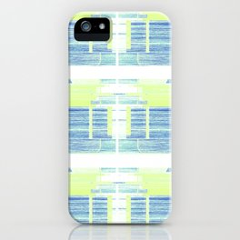 Geometric Background with Client's Logo  iPhone Case
