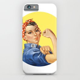 We Can Do It Rosie the Riveter iPhone Case