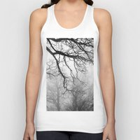 fog Tank Tops featuring Fog by Keith Dotson
