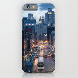 Chinatown Street, New York City iPhone Case