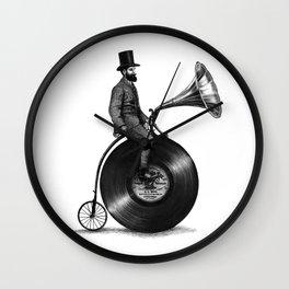 Music Man (monochrome option) Wall Clock