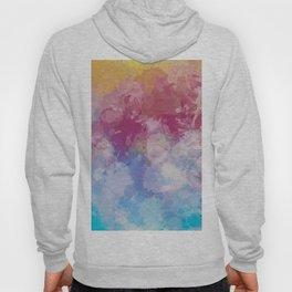 Bright Pastel Paint Splash Abstract Hoody