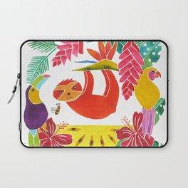 Sloth with anona Laptop Sleeve