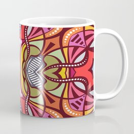 C13D Pattern Construct Coffee Mug