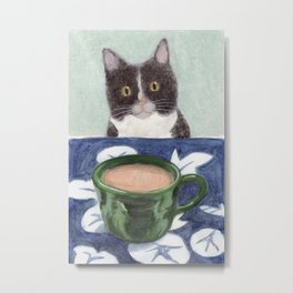 Coffee with Henry #4 Metal Print