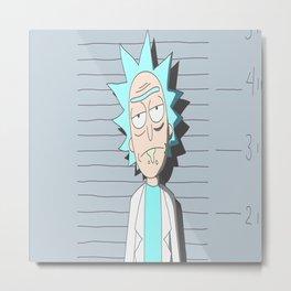 Rick got arrested Metal Print