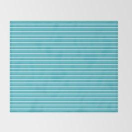 Lemoncello Striped Throw Blanket