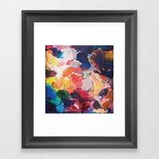 Paint Palette Framed Art Print