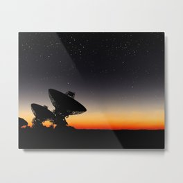 The Search Metal Print