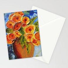 Lively garden | Jardin animé Stationery Cards