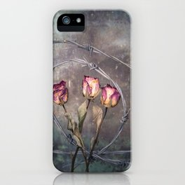 Trapped Roses iPhone Case