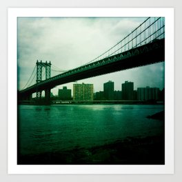 Manhattan Bridge Art Print
