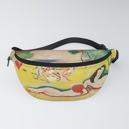 The Joy of Life - Henri Matisse - Exhibition Poster Poster Fanny Pack