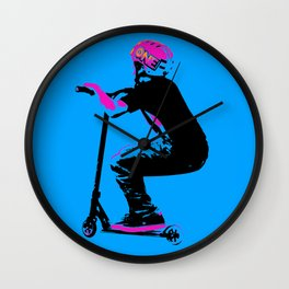 Scooter Cruiser - Scooter Boy Wall Clock