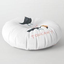 Toucan Toucan't Floor Pillow