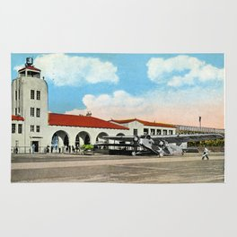 Grand Central Airport, Glendale, California 1930 Rug