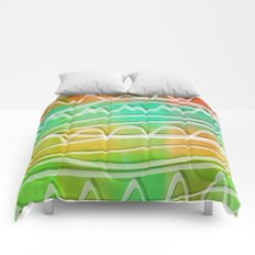 Rainbow Window Comforters