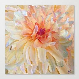 Dancing Dahlia Canvas Print