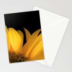 Yellow petals Stationery Cards