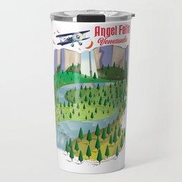 Angel Falls Venezuela Travel Mug