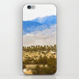Palm Springs Windmills iPhone Skin