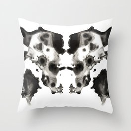 Rorschach No. 2 Throw Pillow