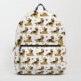 German Shepherd Puppies Backpack
