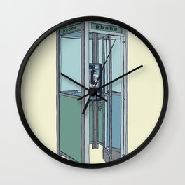 San Dimas Telecoms Wall Clock