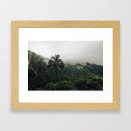 Cloudy Hawaii (2) Framed Art Print