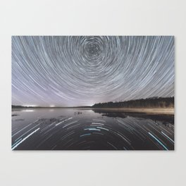Rotation of the Sky Canvas Print