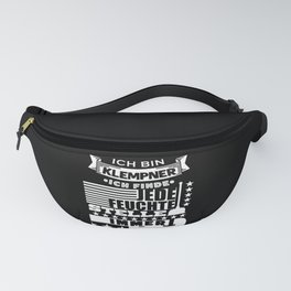 Plumber Damp Place Funny Saying Fanny Pack