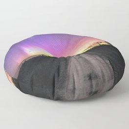 Aurora Australis, Drouin - Australia Floor Pillow