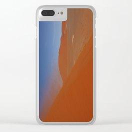 NAMIBIA ... Namib Desert Sandstorm III Clear iPhone Case